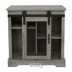Accent Chest Storage Cabinet Rustic Farmhouse Bedroom Living Room Furniture Wood
