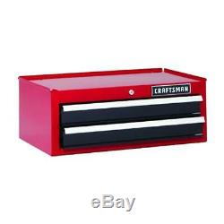Craftsman 26 in 2-Drawer Steel Heavy-Duty Middle Tool Chest Box Storage Cabinet