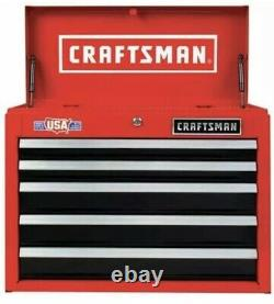 Craftsman 26 in 5-Drawer Steel Heavy-Duty Top Tool Chest Box Storage Cabinet