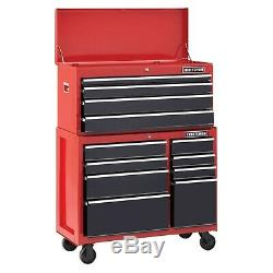 Craftsman 41 in 4-Drawer Steel Heavy-Duty Top Tool Chest Box Storage Cabinet