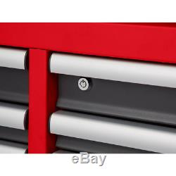 High Capacity 56 in. 8-Drawer Top Chest Cabinet with Digital Lock Tool Storage