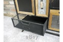 Industrial Multi Coloured Drawer Funky Cabinet Chest Of Drawers Storage Unit