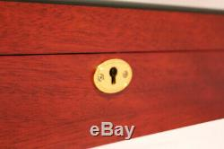 Large 24 Watch Storage Wood Display Chest Box Display Wooden Case Cabinet