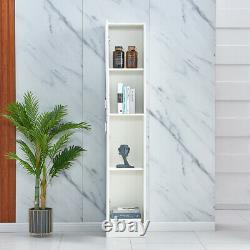 Modern Storage Cabinet Organizer Chest Pantry Cupboard High Gloss Living Room US