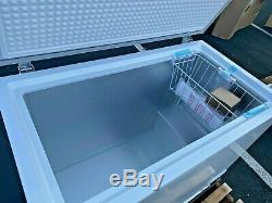 NEW 44 Solid Top Lock Chest Freezer Storage Cabinet NSF ETL Commercial XF-302