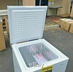 NEW Solid Top Chest Freezer Storage Cabinet NSF 3.5 Cu Ft - Free Home Delivery