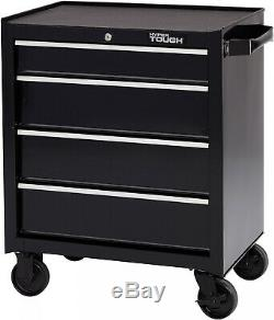 Rolling Tool Box Cart Organizer Large Chest Cabinet Storage 4 Drawer Steel NEW