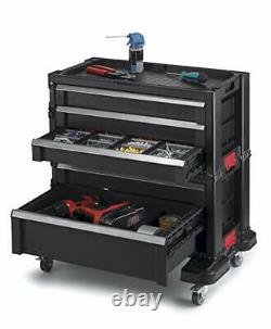 Rolling Tool Chest with Storage Drawers, Locking System and Rolling Tool Chest