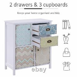 Sideboard Storage Chest Shabby Chic Cabinet Multi-purpose Entryway Living Room