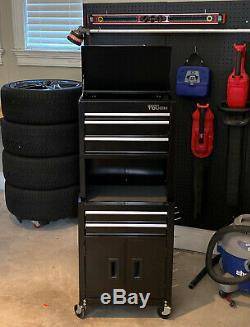 Tool Box On Wheels Rolling Chest Cabinet 20 Mechanic Storage Garage Steel Tough