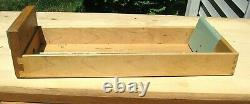 Vintage OAK 15 Drawer Card File Cabinet Apothecary Parts Storage Cabinet Chest