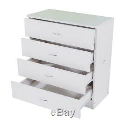 Commode Commode 4 Tiroirs Meubles Discount Cabinet Chambre Stockage