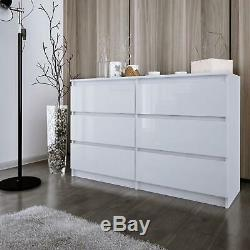 Commode Large Chambre Mobilier Cabinet 2 3 4 5 6 8 Dessine Stockage Grand