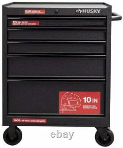 Husky 27 W 5-drawer Rolling Tool Chest Box Armoire De Stockage Mobile Workbench