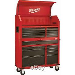 Milwaukee 46 In. 16-drawer Steel Tool Chest And Rolling Cabinet Set, Texturé